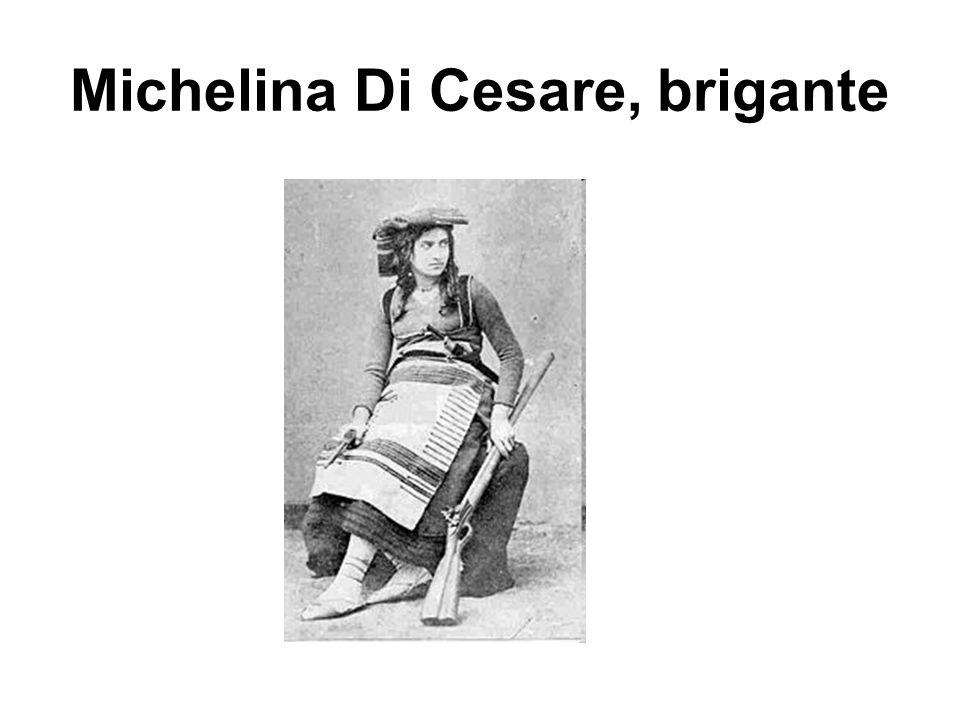 Michelina Di Cesare, brigante
