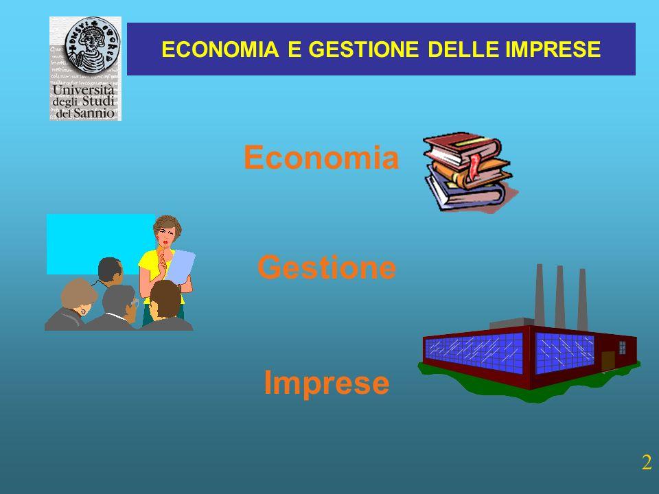 Economia Gestione Imprese