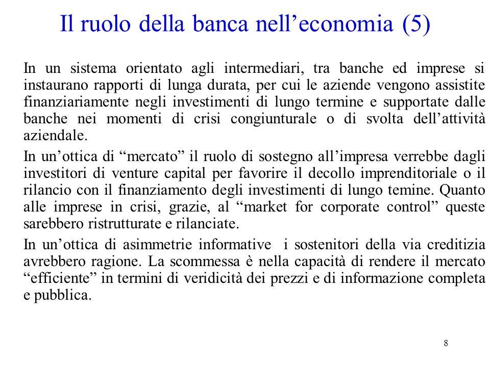 Il ruolo della banca nell'economia (5)