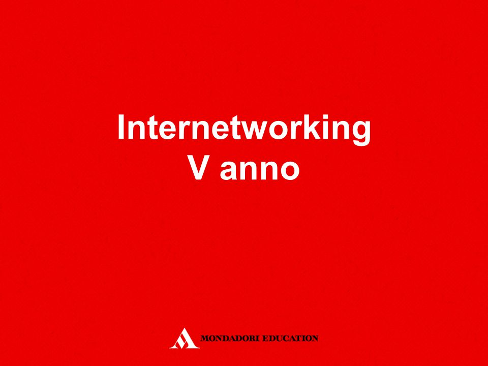 Internetworking V anno