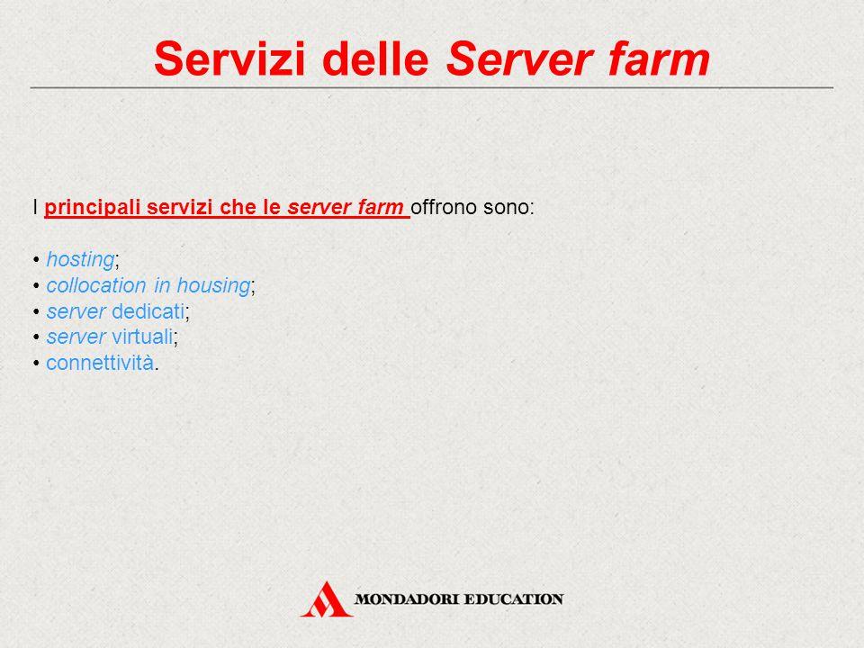 Servizi delle Server farm