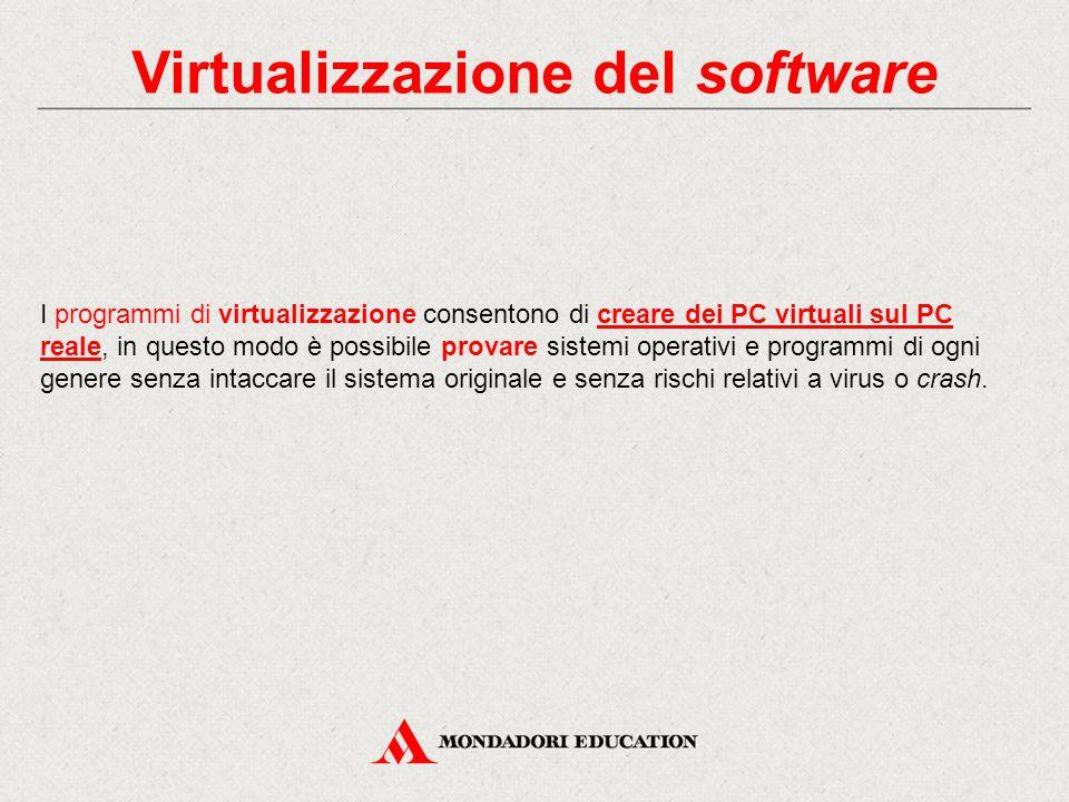 Virtualizzazione del software