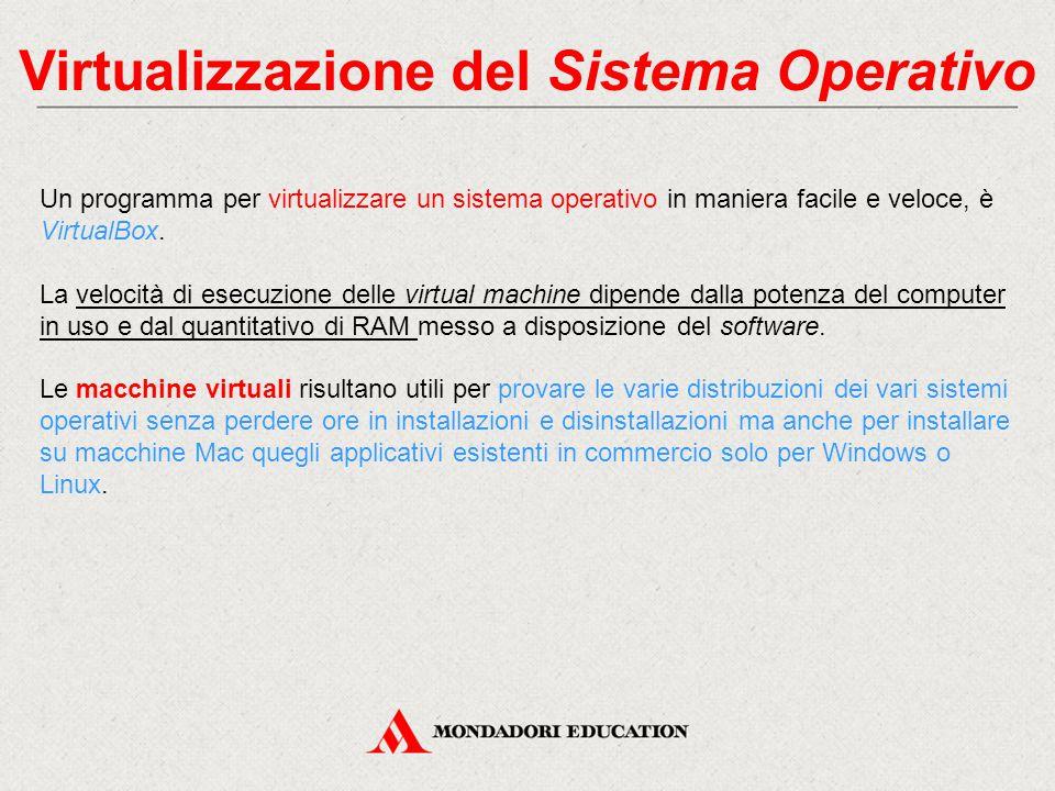 Virtualizzazione del Sistema Operativo