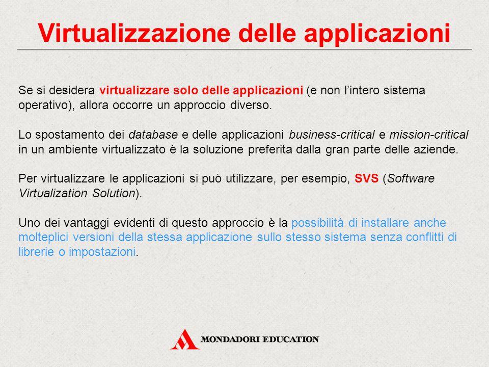 Virtualizzazione delle applicazioni