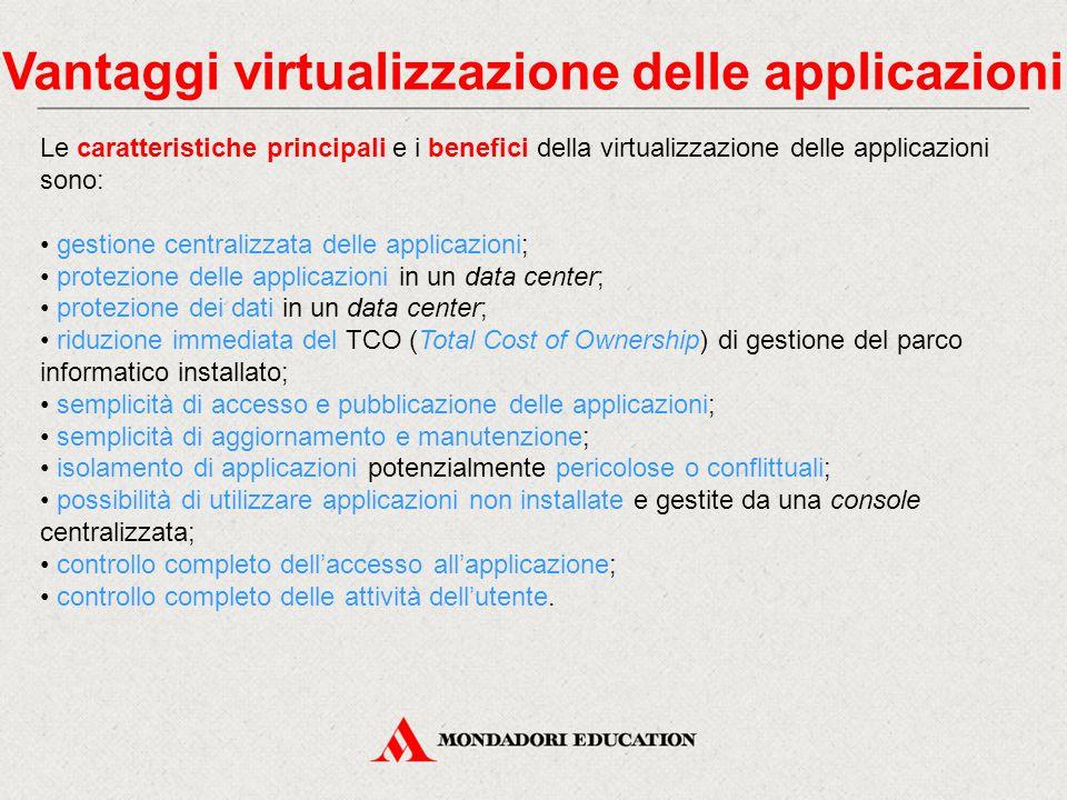 Vantaggi virtualizzazione delle applicazioni
