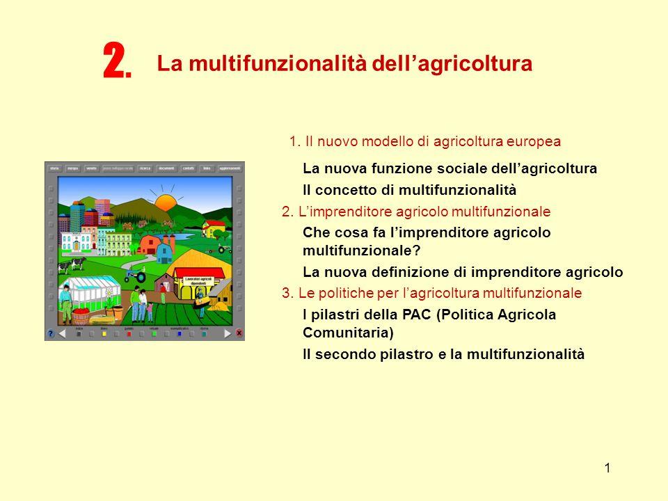 La multifunzionalità dell'agricoltura