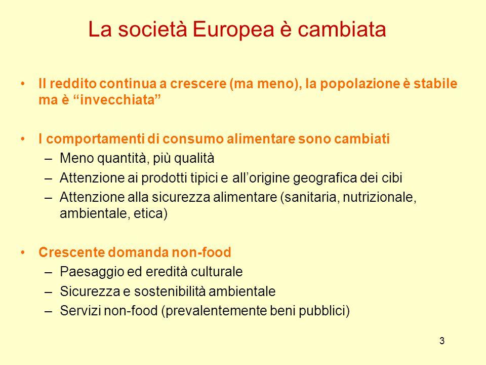 La società Europea è cambiata