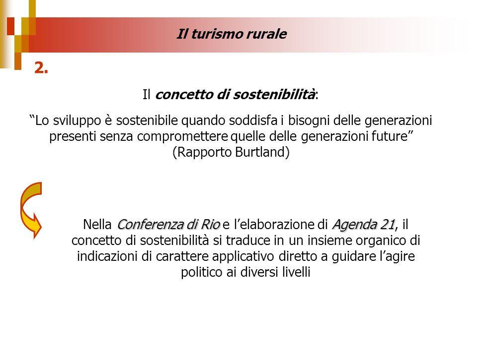 Il concetto di sostenibilità: