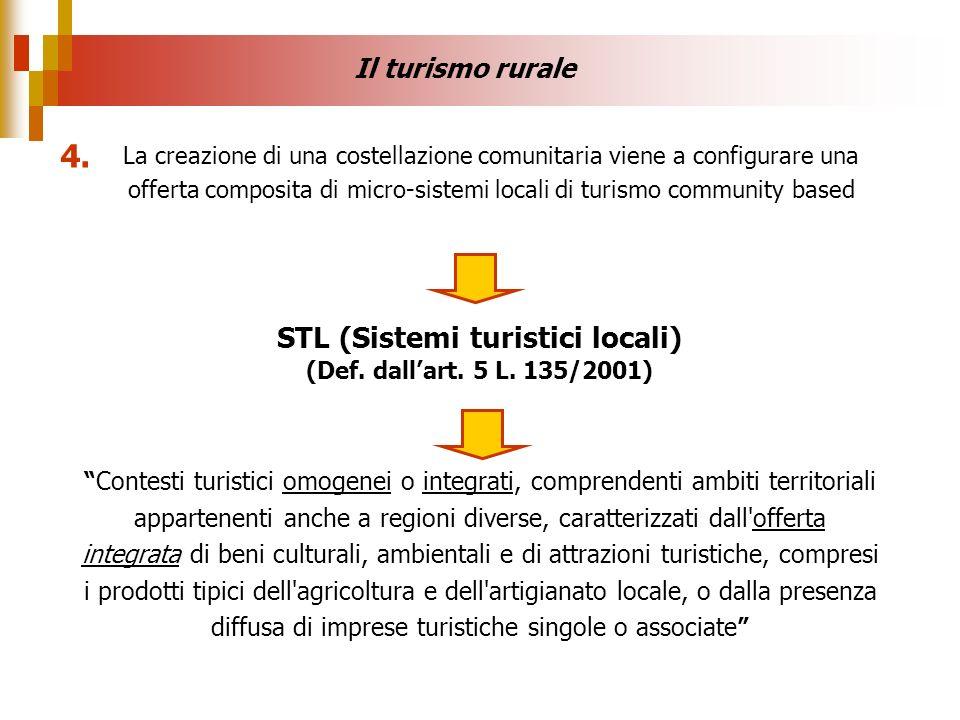 STL (Sistemi turistici locali) (Def. dall'art. 5 L. 135/2001)