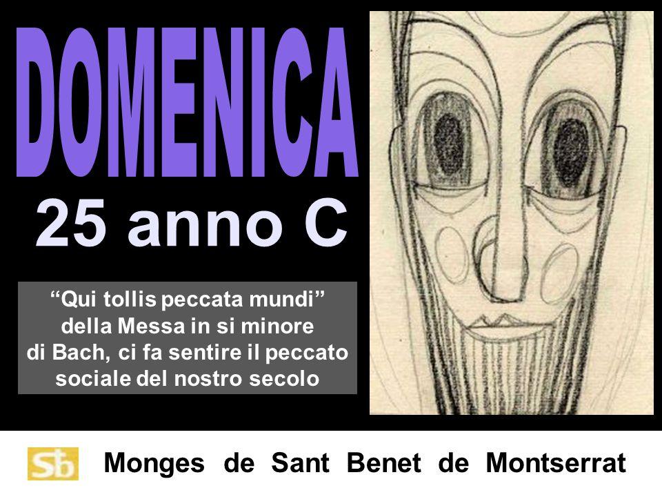 25 anno C DOMENICA Qui tollis peccata mundi della Messa in si minore