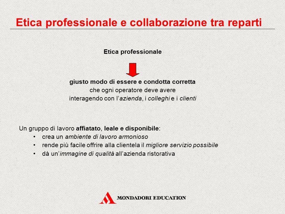 Etica professionale e collaborazione tra reparti