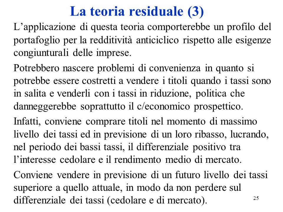 La teoria residuale (3)