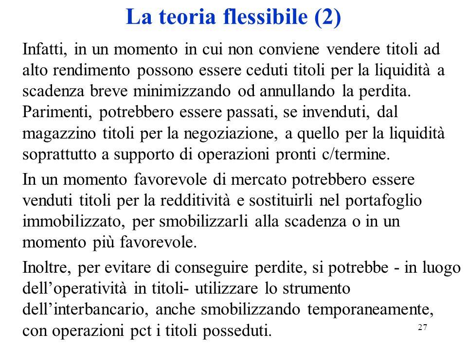 La teoria flessibile (2)