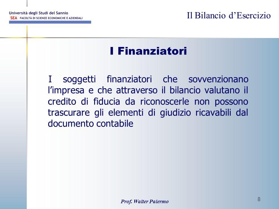 I Finanziatori