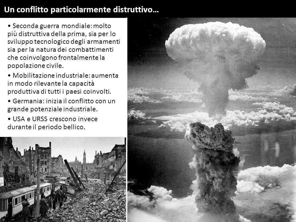Un conflitto particolarmente distruttivo…
