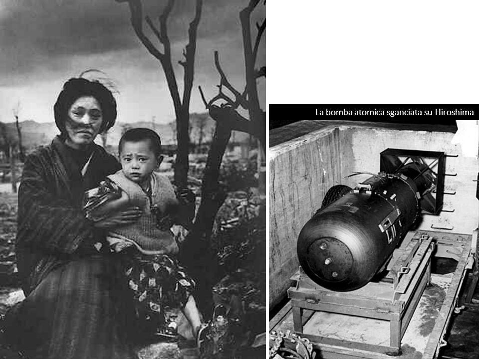 La bomba atomica sganciata su Hiroshima