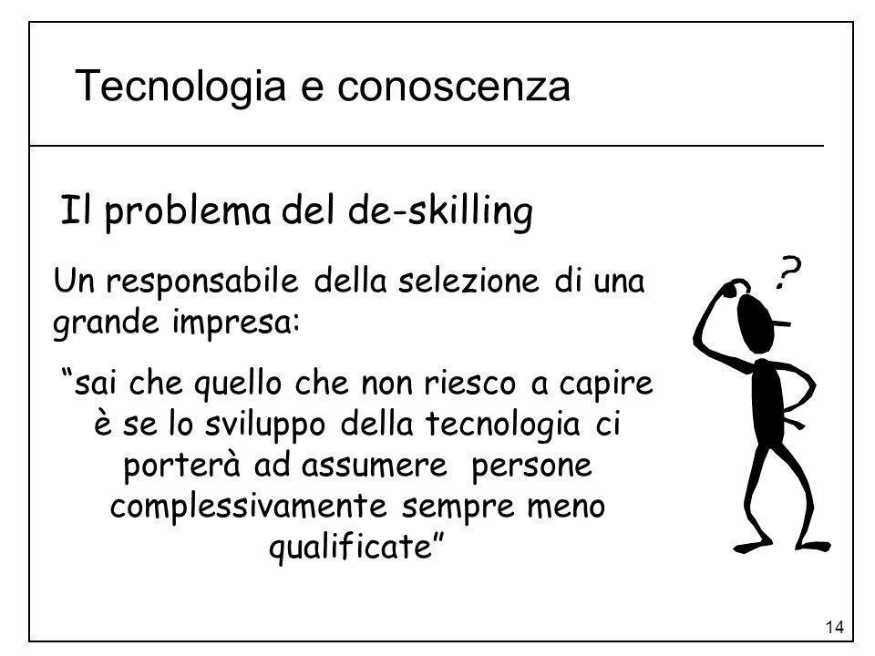 Tecnologia e conoscenza