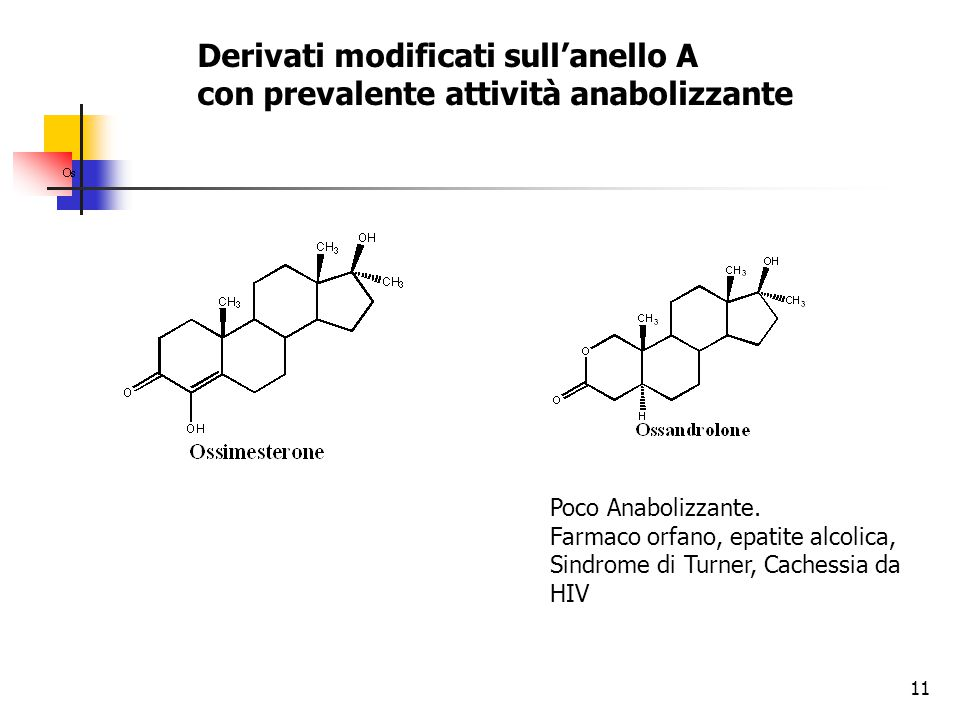 Derivati modificati sull'anello A