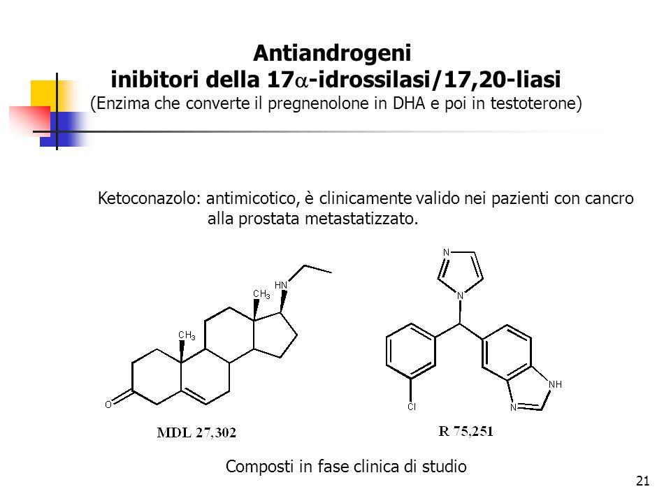inibitori della 17a-idrossilasi/17,20-liasi