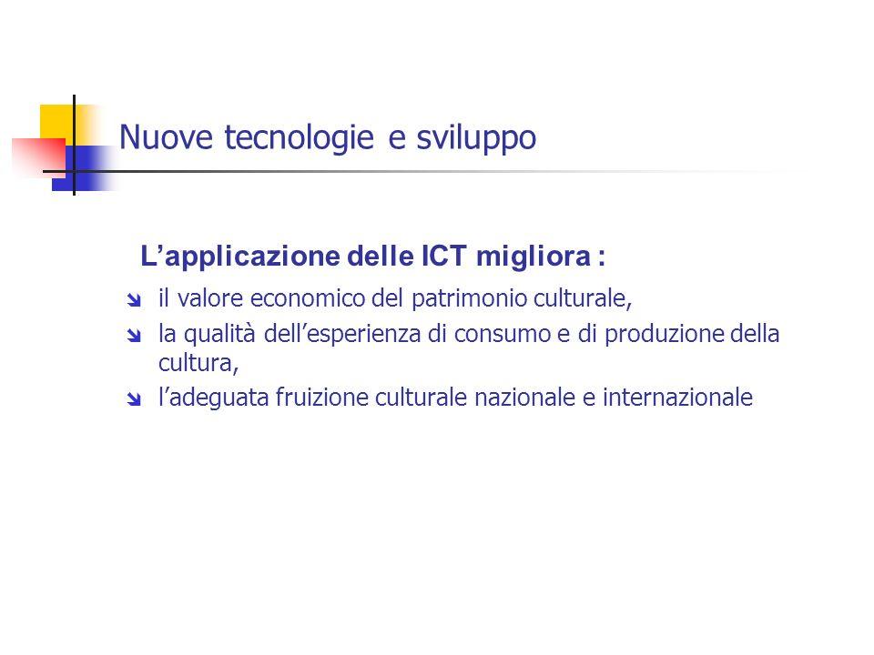 Nuove tecnologie e sviluppo