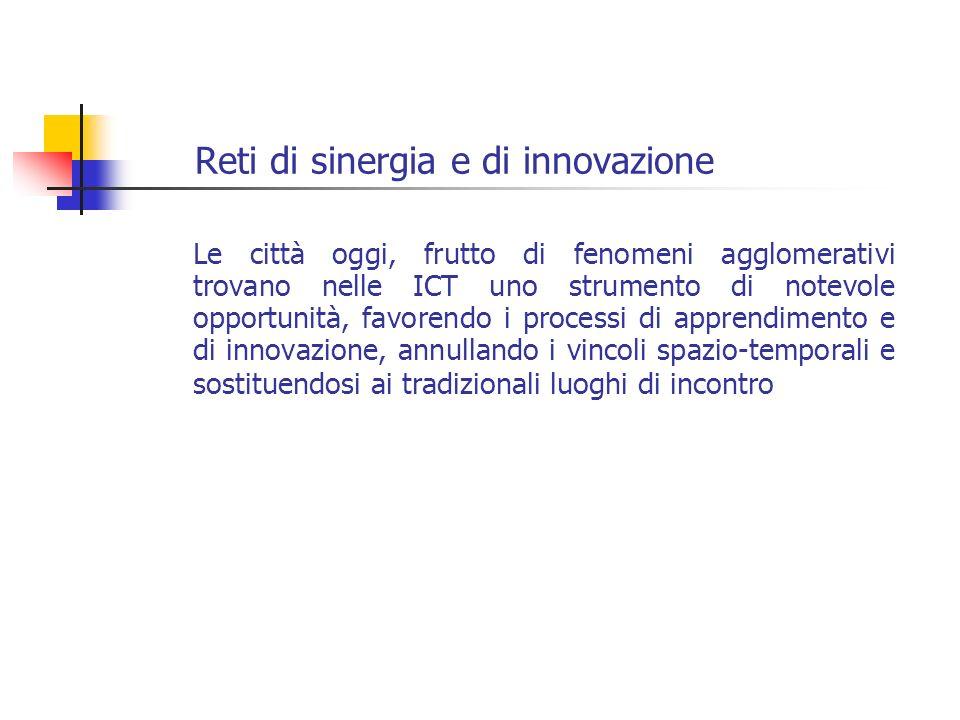 Reti di sinergia e di innovazione