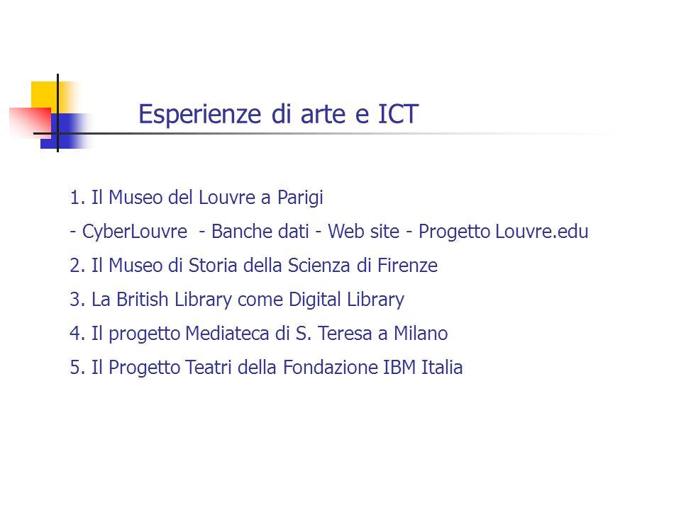 Esperienze di arte e ICT