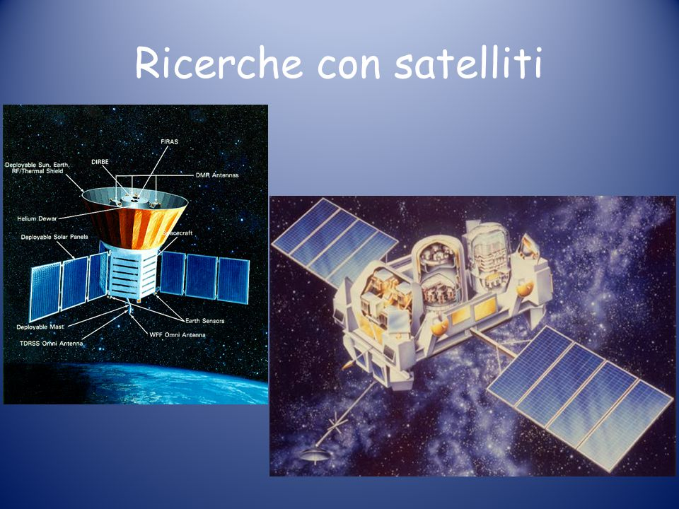 Ricerche con satelliti