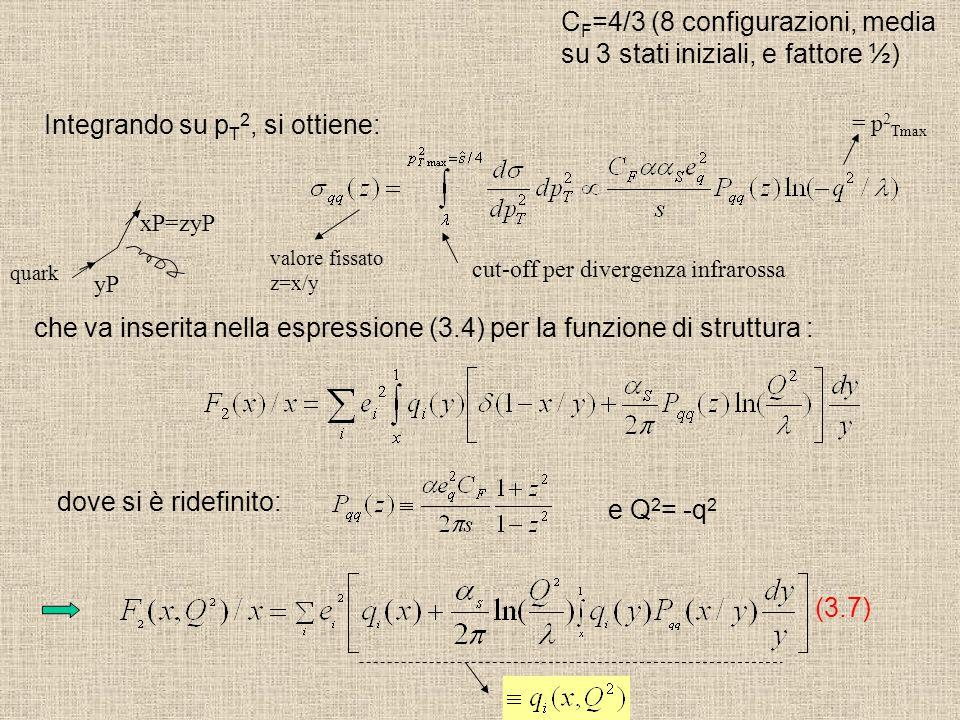 CF=4/3 (8 configurazioni, media su 3 stati iniziali, e fattore ½)