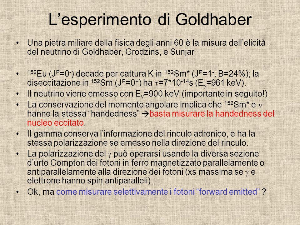 L'esperimento di Goldhaber