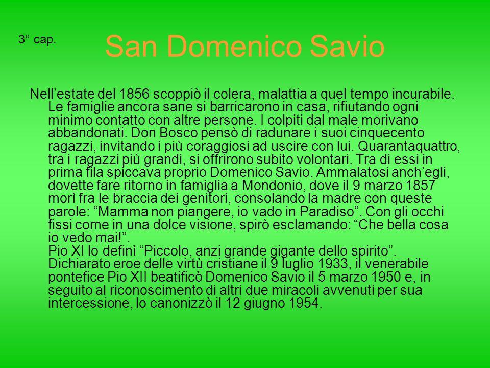 San Domenico Savio 3° cap.