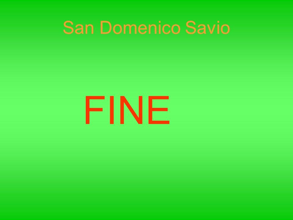 San Domenico Savio FINE