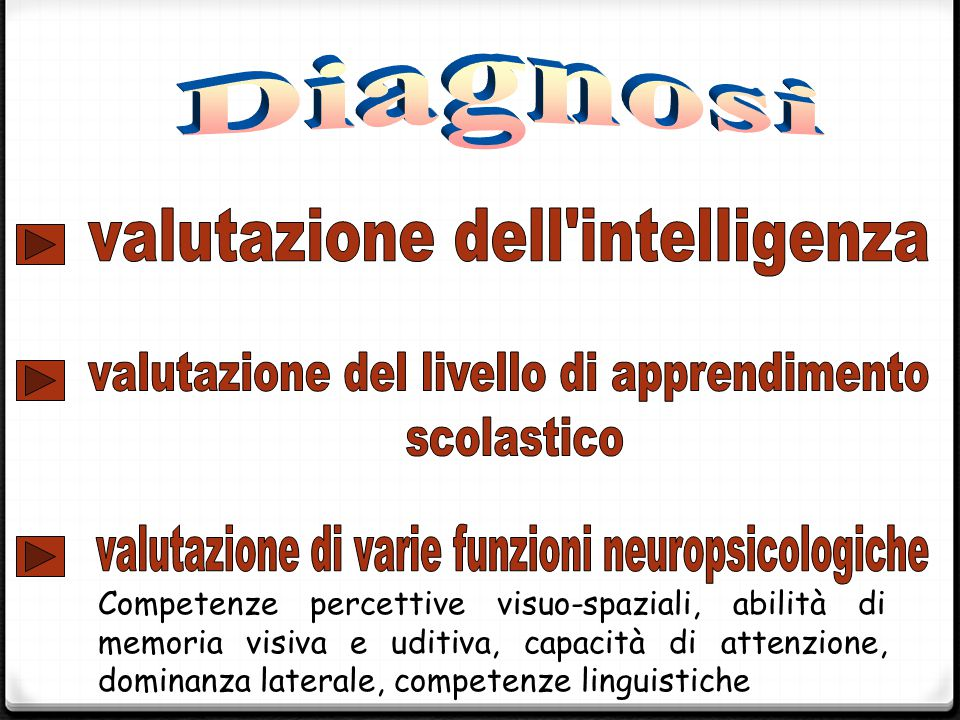 valutazione dell intelligenza
