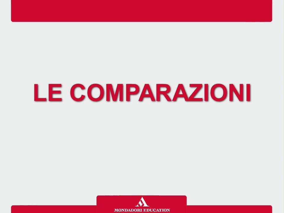 LE COMPARAZIONI