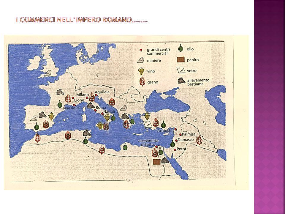 I commerci nell'impero romano………