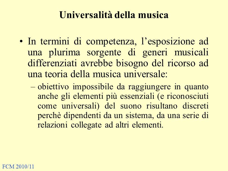 Universalità della musica