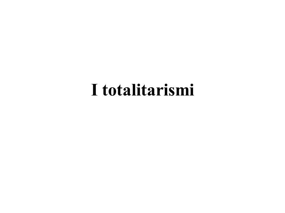 I totalitarismi