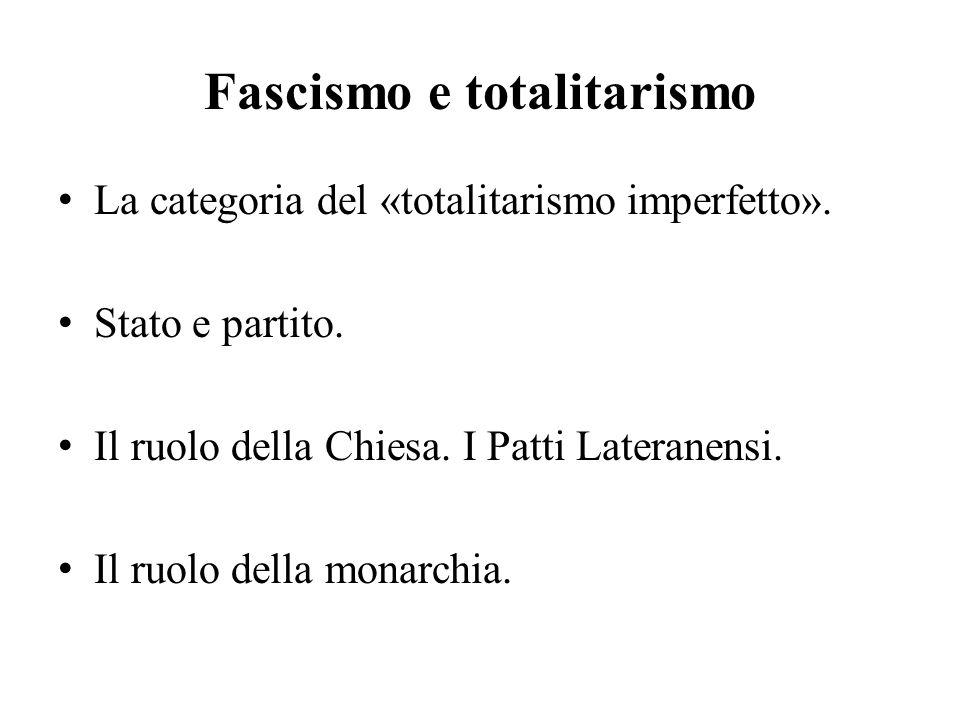 Fascismo e totalitarismo