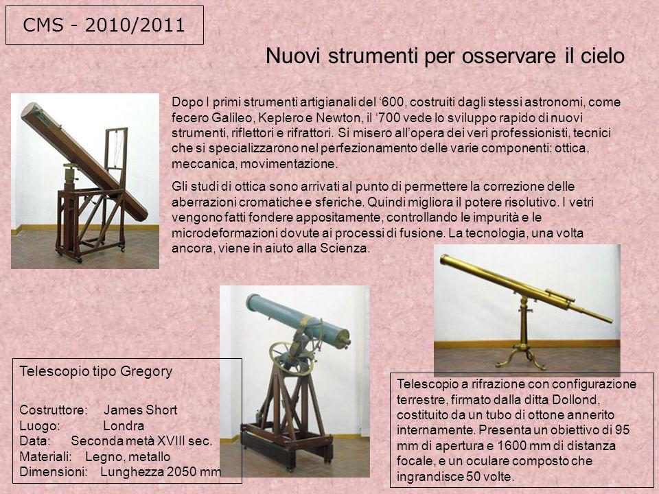 Nuovi strumenti per osservare il cielo