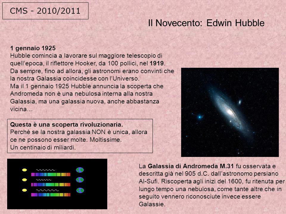 Il Novecento: Edwin Hubble