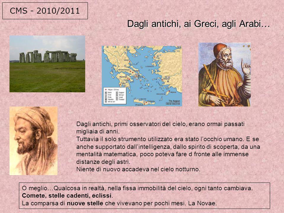 Dagli antichi, ai Greci, agli Arabi…