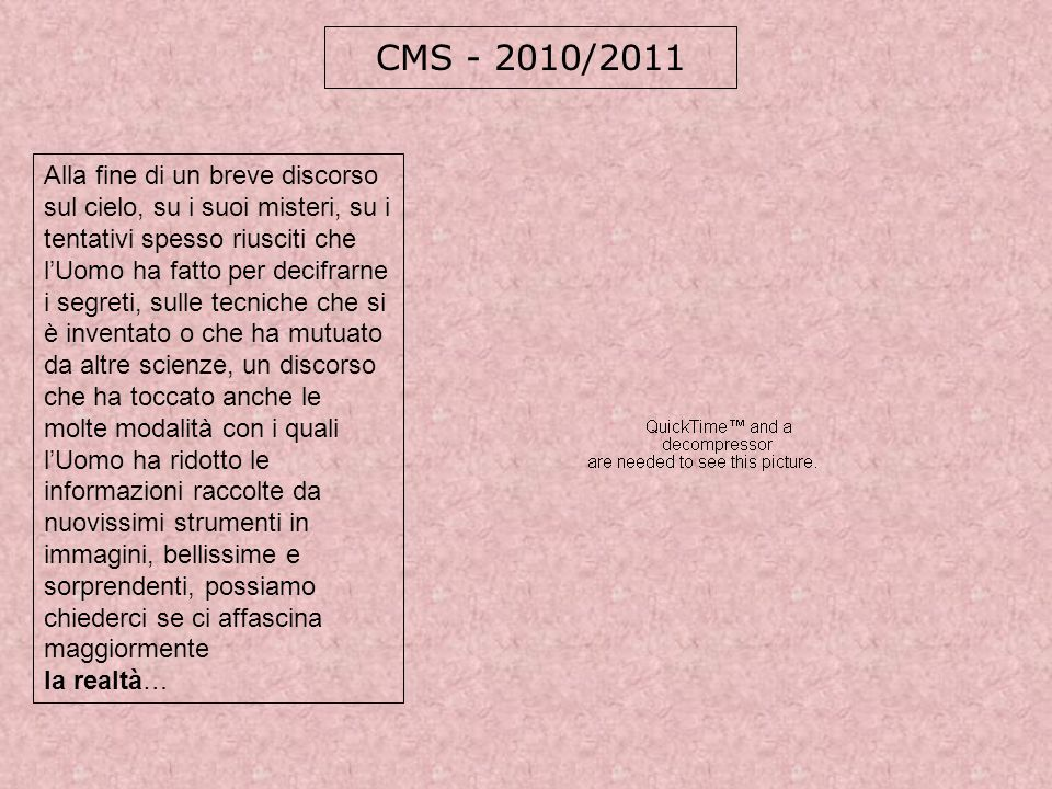CMS - 2010/2011