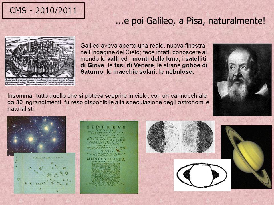 ...e poi Galileo, a Pisa, naturalmente!