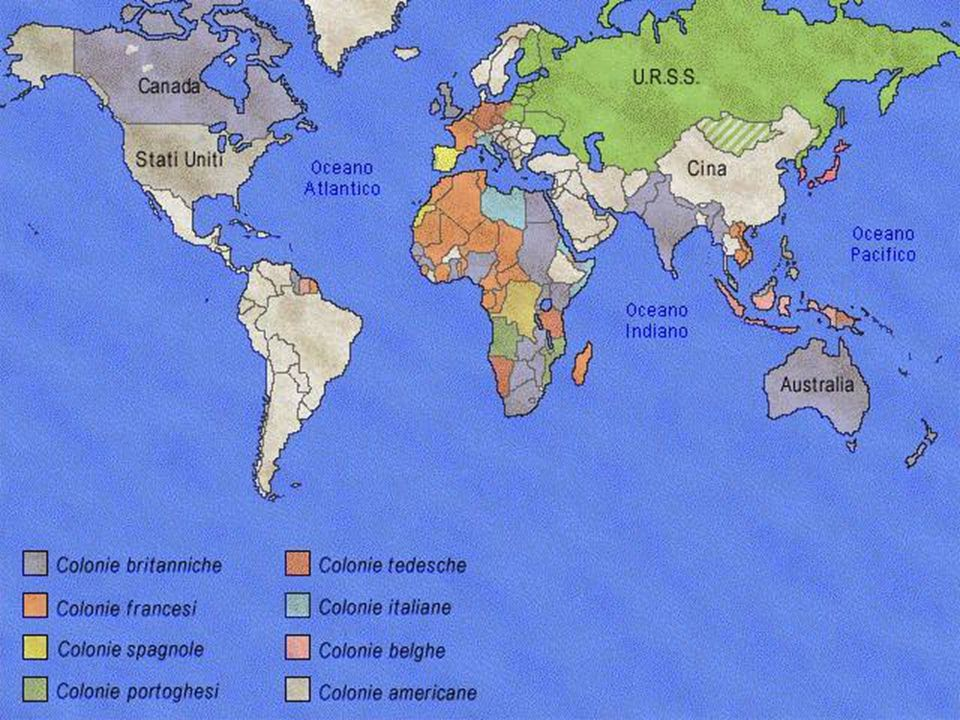 XIX sec. Imperialismo e Colonialismo