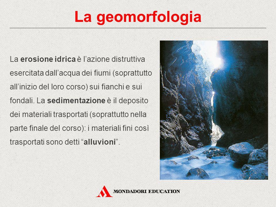 La geomorfologia