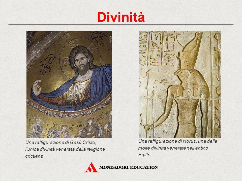 Divinità Una raffigurazione di Gesù Cristo, l'unica divinità venerata dalla religione cristiana.