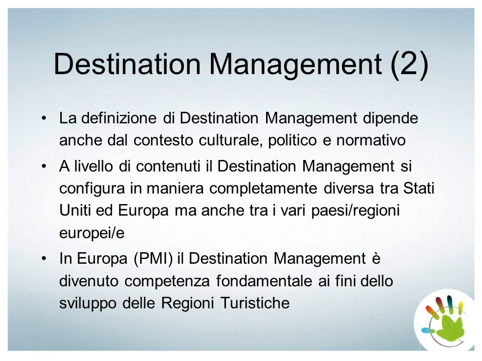 Destination Management (2)