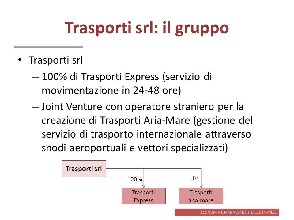 Trasporti srl: il gruppo