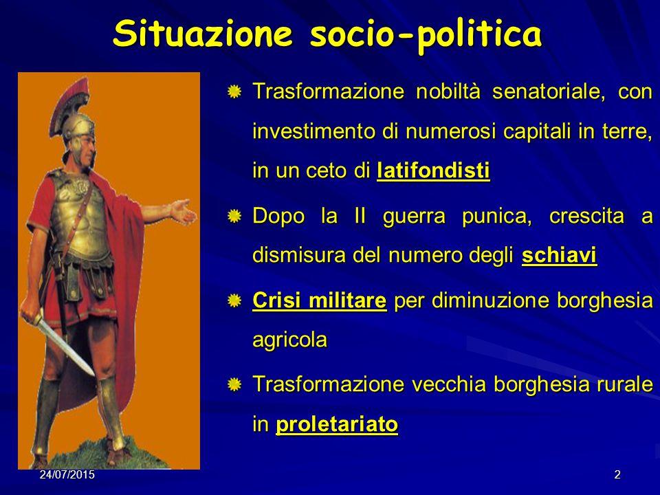 Situazione socio-politica
