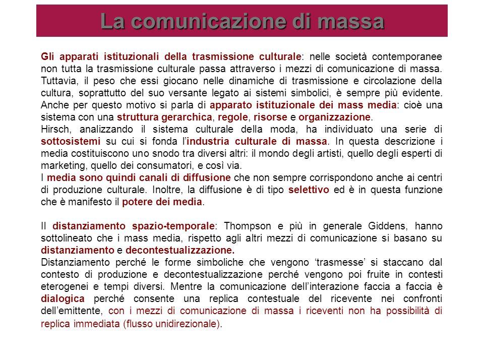 La comunicazione di massa