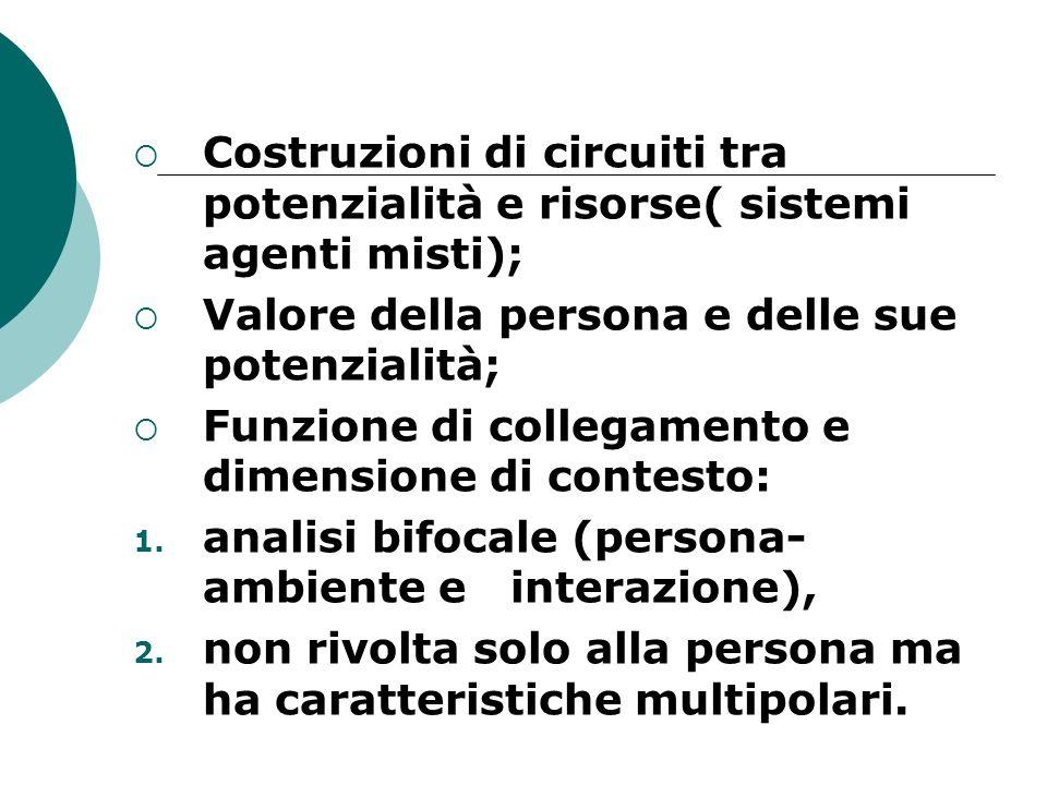 Costruzioni di circuiti tra potenzialità e risorse( sistemi agenti misti);